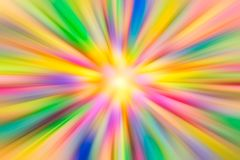 Colorful vivid vibrant colors Acceleration super fast speed motion royalty free stock photography