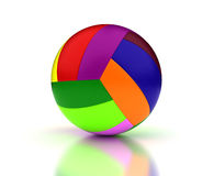 Colorful Volleyball royalty free stock photos
