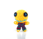 Colorful voodoo doll Stock Photo