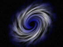 Colorful vortex in space Royalty Free Stock Photo