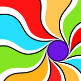 Colorful Vortex Royalty Free Stock Images