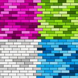 Colorful wall Stock Image