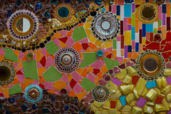 Colorful wall abstract Royalty Free Stock Images