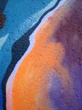 Colorful wall abstract Stock Photography