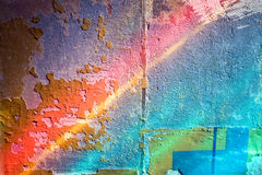Colorful wall background Stock Images