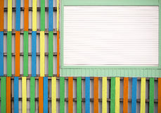 Colorful wall background Royalty Free Stock Images