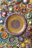 Colorful wall decoration Royalty Free Stock Images