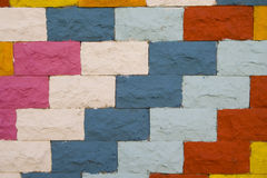 Free Colorful Wall Pattern Royalty Free Stock Photography - 3952987