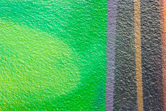 Colorful wall with spray a paint,Abstract background Stock Photo