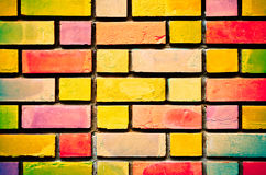 Colorful Wall - texture. Colorful wall, stonewall and bricks Royalty Free Stock Photo
