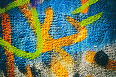 Colorful Wall Texture Royalty Free Stock Photo
