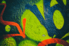 Colorful Wall Texture Stock Images