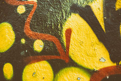 Colorful Wall Texture Stock Image