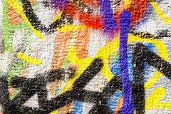 Colorful Wall Texture Royalty Free Stock Photography