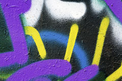 Colorful Wall Texture Stock Photo