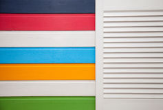 Colorful wall Royalty Free Stock Image