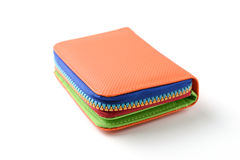 Colorful wallet Stock Image