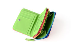 Colorful wallet Stock Photography