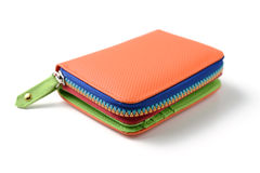 Colorful wallet Royalty Free Stock Photo