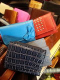 Colorful wallets Royalty Free Stock Image
