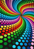 Colorful wallpaper Stock Photo