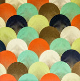 Colorful wallpaper design Stock Images