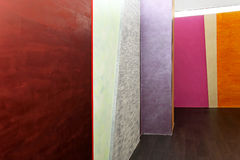 Colorful walls Royalty Free Stock Photography