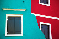 Colorful walls Royalty Free Stock Image