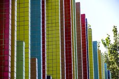 Colorful walls Stock Photography
