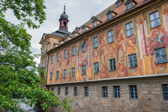 Colorful walls of Old town hall in Bamberg, Germany Stock Photography