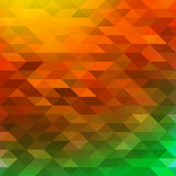 Colorful warm geometrical abstract  background Stock Photo