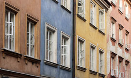 Colorful Warsaw Royalty Free Stock Photography