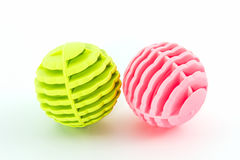 Colorful of washing ball. Royalty Free Stock Photos