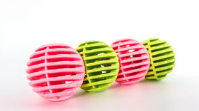Colorful of washing ball, plastic balls. Royalty Free Stock Images