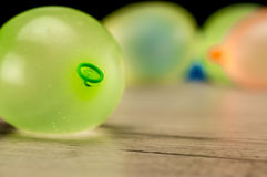 Colorful water ballons Stock Image