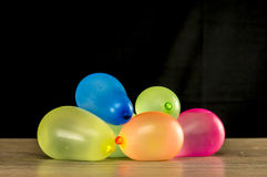 Colorful water ballons Royalty Free Stock Images