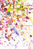 Colorful water color splash background Royalty Free Stock Photo
