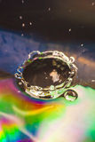 Colorful Water drop Royalty Free Stock Image