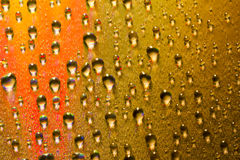 Colorful Water Drop on Disc Royalty Free Stock Photography