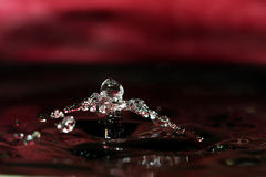 Colorful Water Drop Sculptures Stock Images