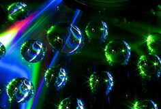 Colorful Water Drops Stock Photo