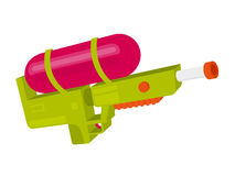 Colorful water gun Stock Images