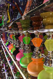 Colorful Water Pipe. Display, Athens, Greece Royalty Free Stock Images