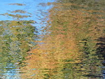 Colorful water surface texture Stock Photo