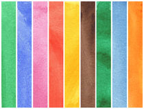 Colorful watercolor Royalty Free Stock Images
