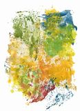 Colorful watercolor abstract background illustration.  Royalty Free Stock Image
