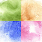 Colorful watercolor background Royalty Free Stock Photos