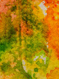 Colorful watercolor background texture Stock Photos