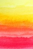 Colorful watercolor brush for background Stock Photography
