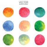 Colorful watercolor brush strokes.Vector brush stroke for design vector illustration